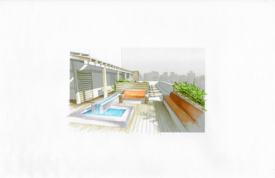 Midtown Rooftop Garden