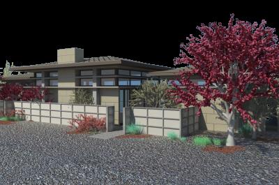 9116 Cordell_Franke Residence_Front of House